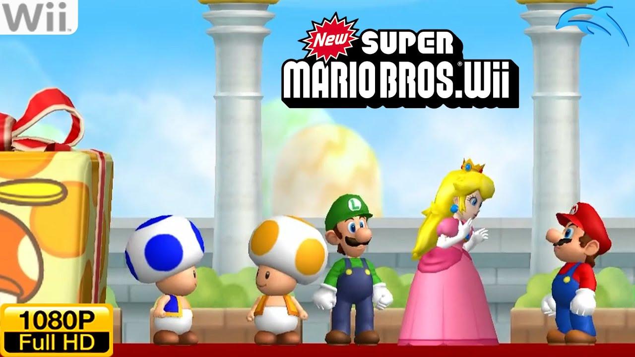 Best Super Mario games on wii